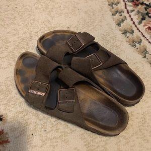 Birkenstock two-strap sauce sandal